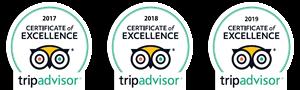 Trip Advisor Certificates
